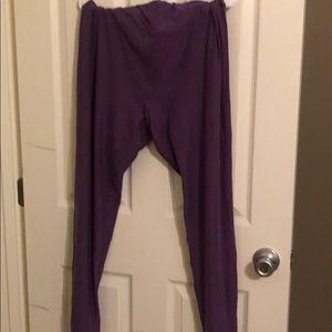 TC Lularoe Leggings purple